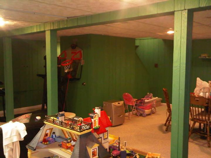 Union county new jersey home theater construction and for Basement room ideas in bayonne nj