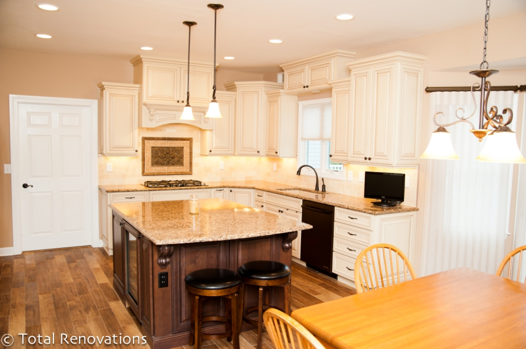 Kitchen Remodel in New Jersey with Oil Rubbed Bronze Appliances NJ