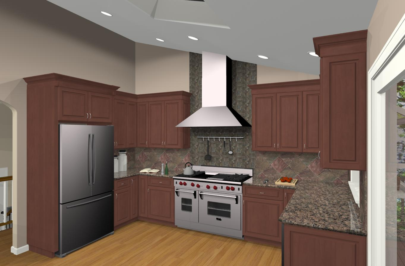 Bi level home remodeling pictures joy studio design for Kitchen remodel design