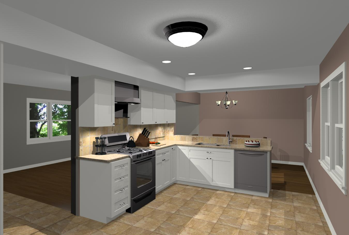Basic kitchen design for makeover remodeling design for Basic kitchen remodel ideas