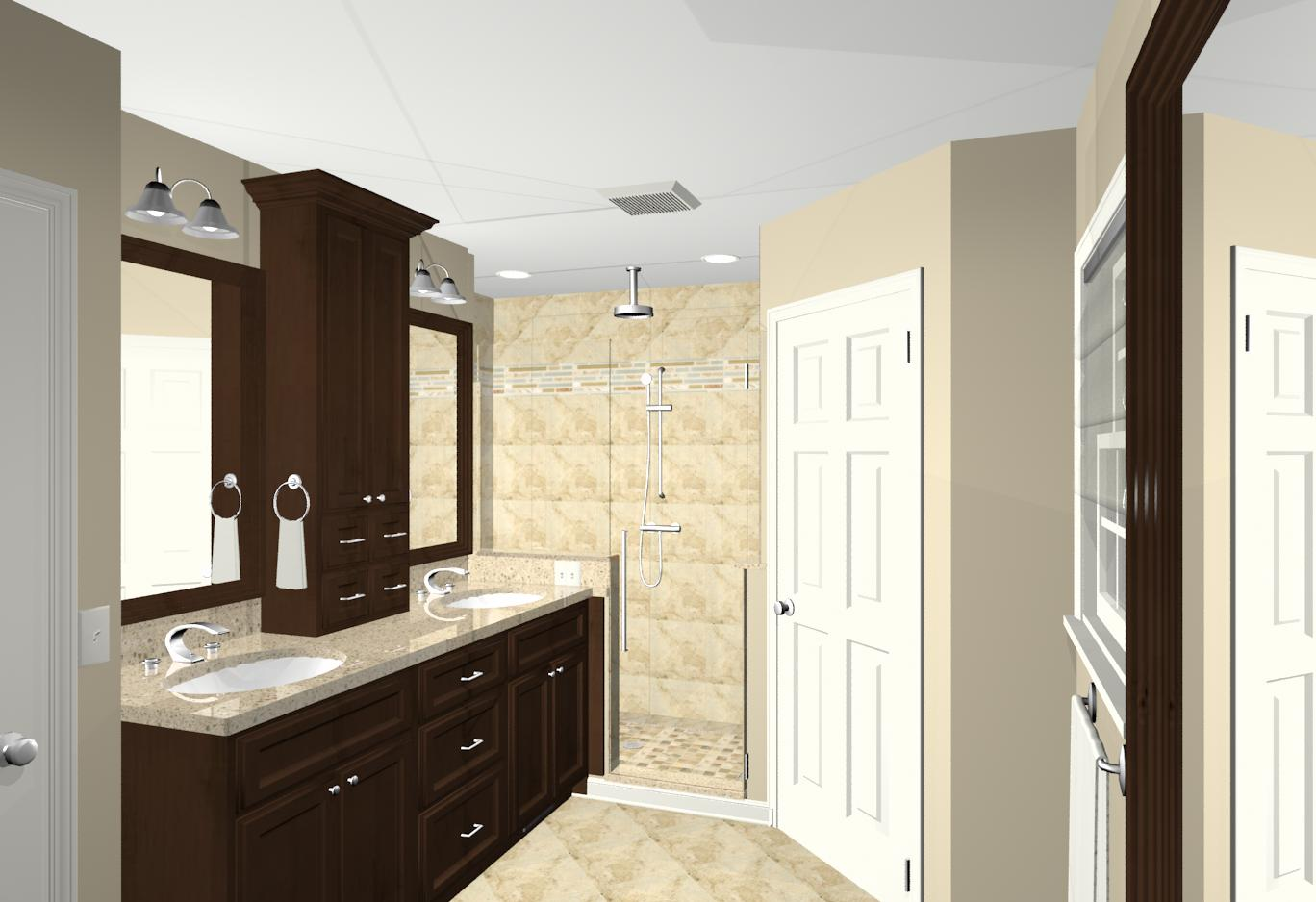 Morris county nj bathroom remodeling contractors and for Simple master bathroom ideas