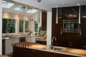 Contemporary kitchen addition project in monmouth County (1)