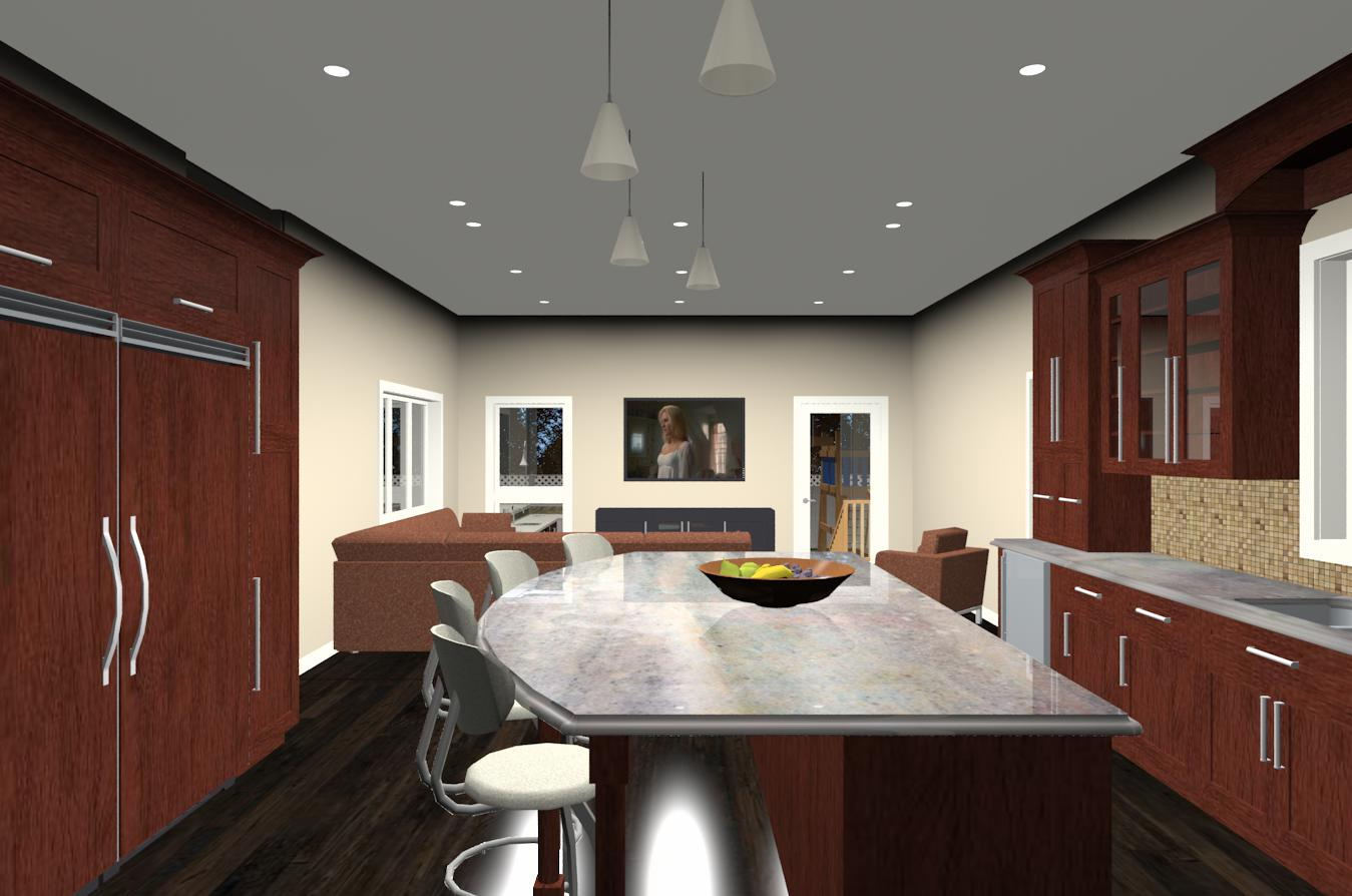 Character Generator Computer Aided Design : Contemporary kitchen design and remodeling