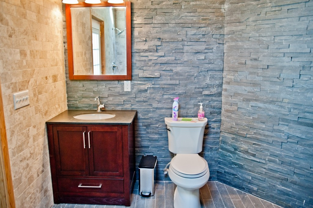 A 3 000 bathroom remodel design build planners for Pool houses with bathrooms