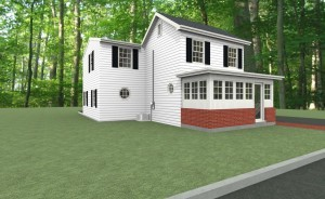 Exterior of a Bedroom and Bathroom Addition  in Ocean County (2)-Design Build Pros