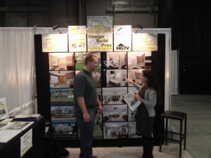 Jason Parsons and Franca Giuliani at the Home Show