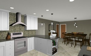 Kitchen Remodel in Brick NJ (2)