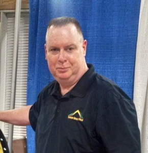 Neil Parsons at the home show