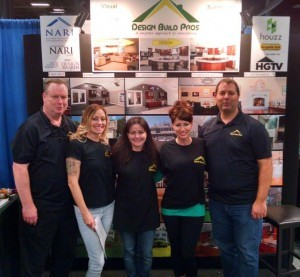 The Design Build Pros Team at the Remodeling Home Show