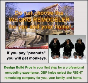 Design Build Pros - first step for a professional remodeling experience