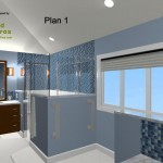Master Bathroom Remodel Plan 1C