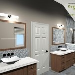 Master Bathroom Remodel Plan 2C