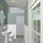 Three Fixture Bathroom Remodel Plan 1A