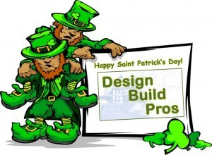 Happy St. Patrick's Day from Design Build Pros
