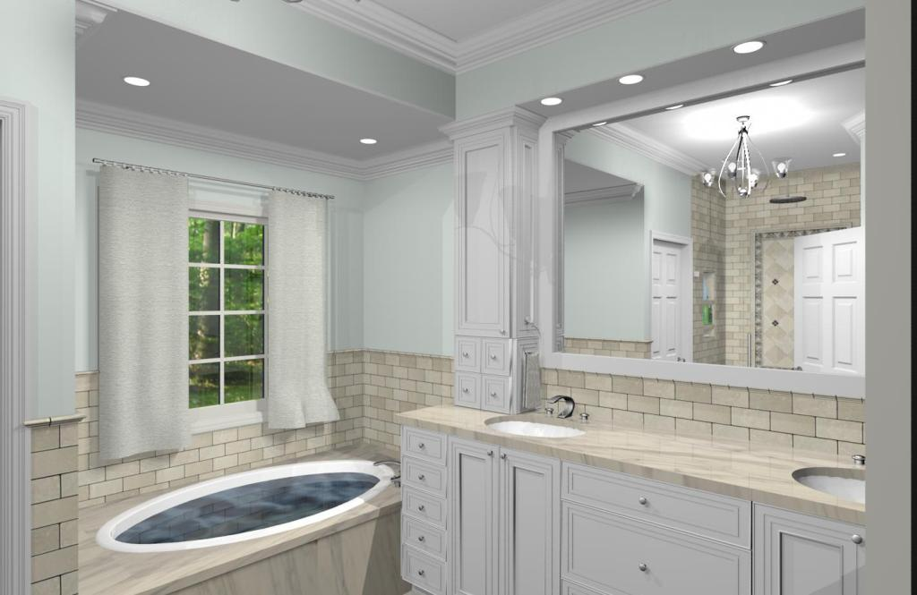 New Jersey Master Bathroom Remodeling Design Option Plan 2 4 Images Frompo