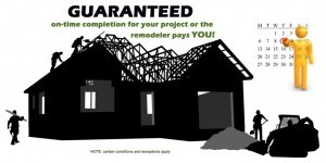 On time remodeling project guarantee - Design Build Pros