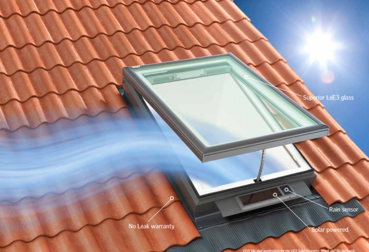 Fresh Air Skylights From Velux Design Build Pros
