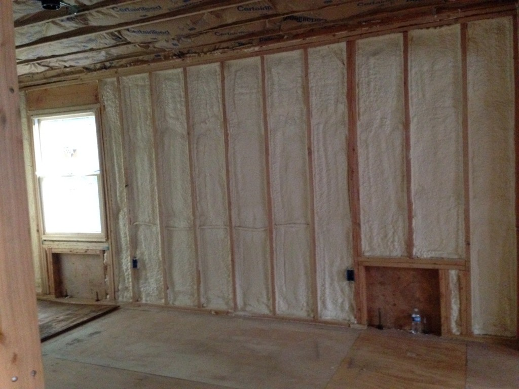 Spray Foam Insulation Design Build Planners