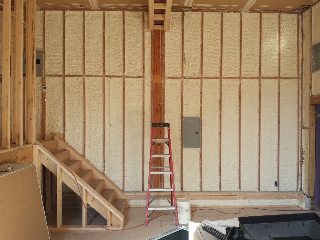 Gorgeous Kitchen Renovation In Potomac Maryland: Spray Foam Insulation For Remodeling Projects
