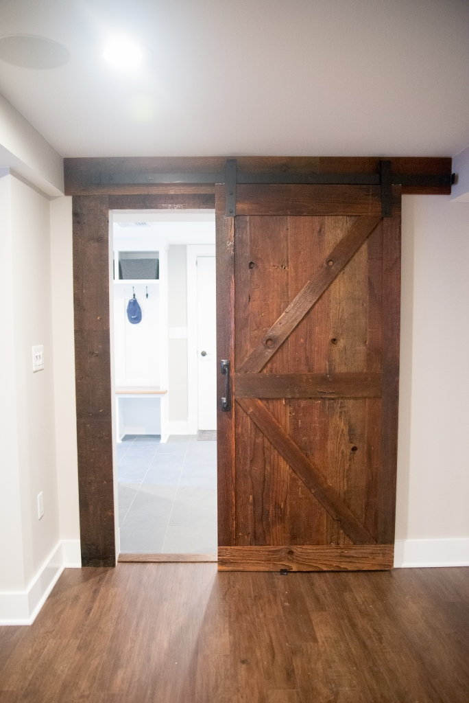 Barn style sliding passage doors design build pros for Barn door designs