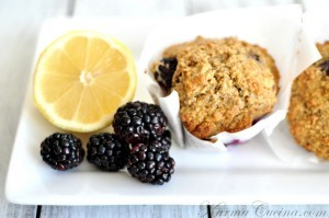 Blackberry Lemon Bran Muffins Recipe (1)-Design Build Pros