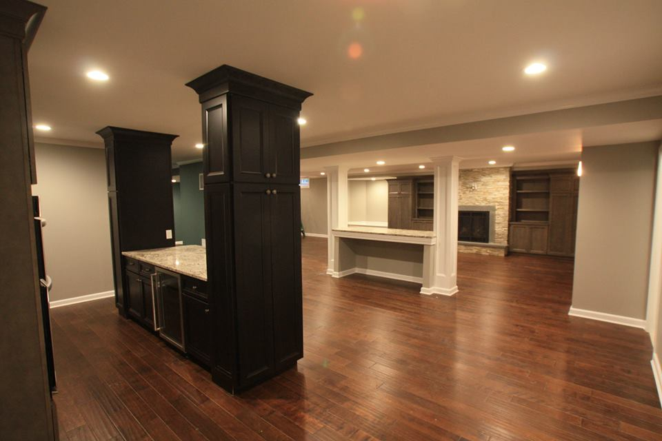 NJ Basement Designs by Design Build Pros of Rumson area New Jersey