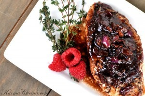 Raspberry Balsamic Chicken Recipe-Design Build Pros