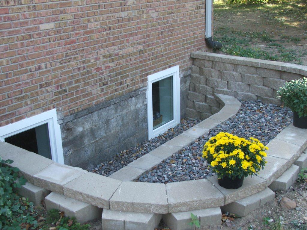 Basement egress windows design build planners for Basement bedroom egress window requirements