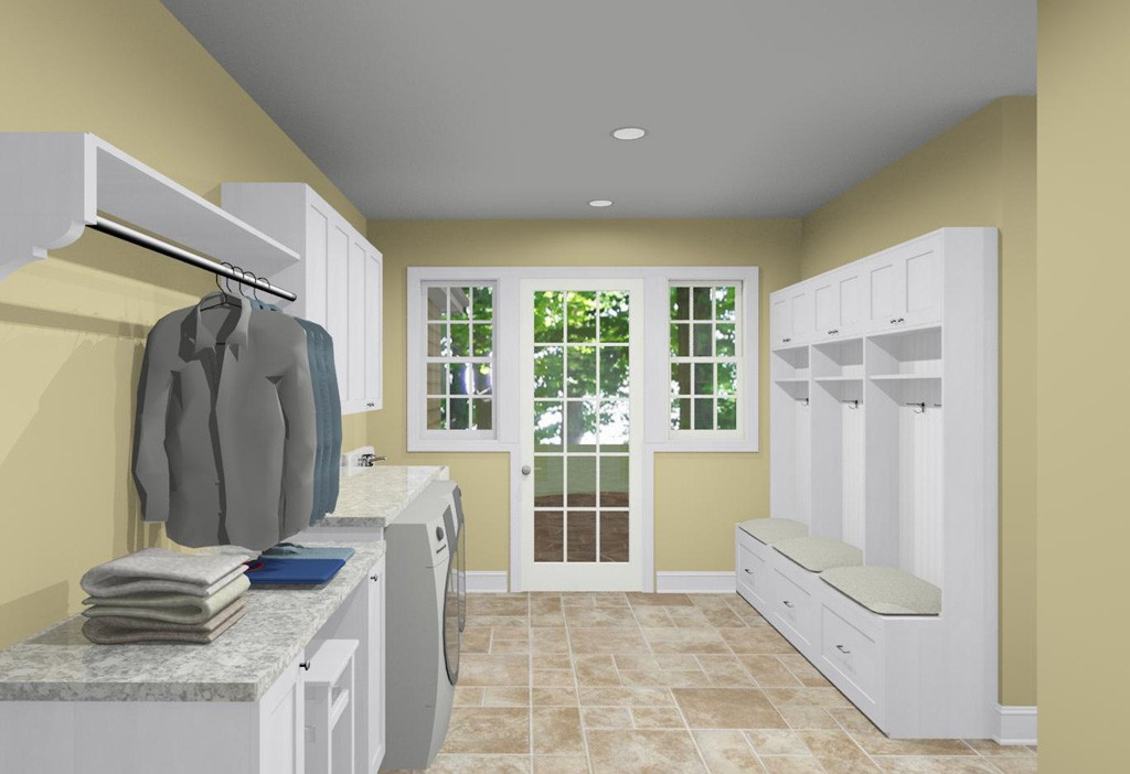 Selecting a washer and dryer for your laundry room toms Laundry room blueprints