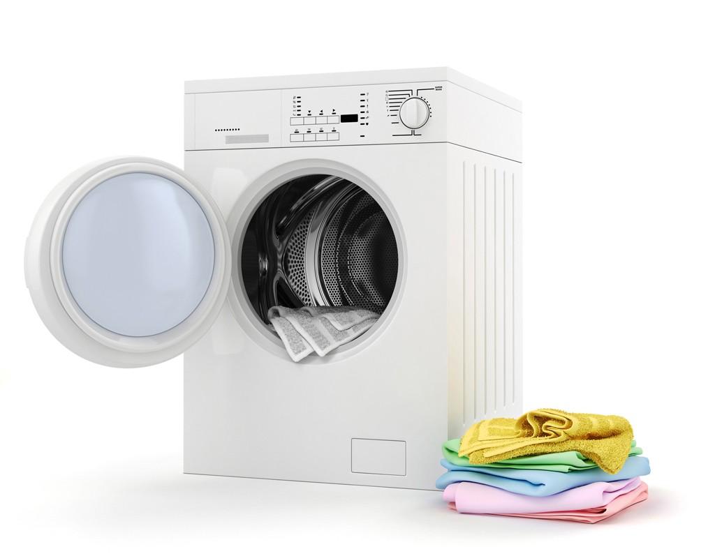 washing toms in washer machine