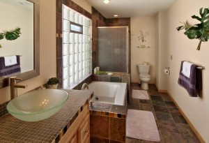 Glass block for bathroom remodeling ~ Design Build Pros (1)