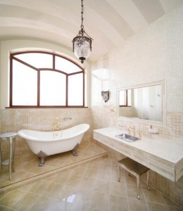 Vintage bathroom ~ Design Build Pros