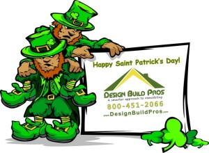 Happy St Patrick's Day from the Design Build Pros team