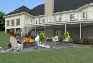 Outdoor Living Project Design from Design Build Pros