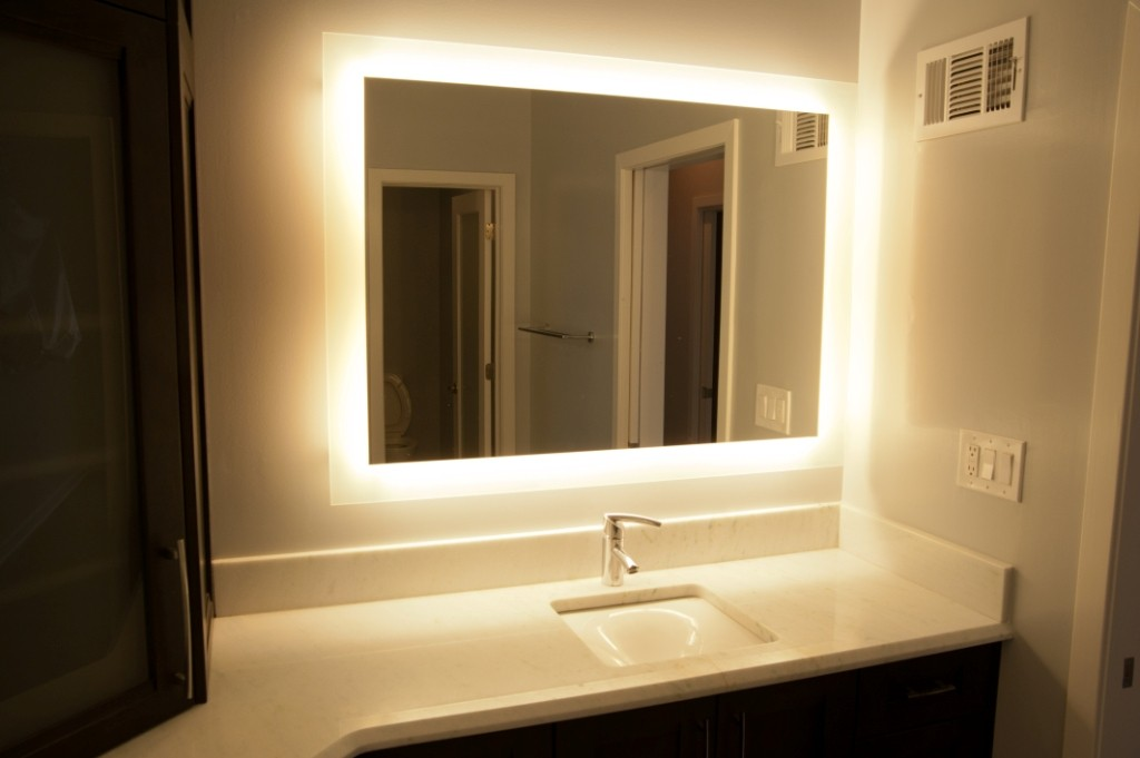 What Is A Back Lit Vanity Mirror Design Build Planners