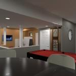 Basement Remodel in Bridgewater NJ CAD (1)-Design Build Planners