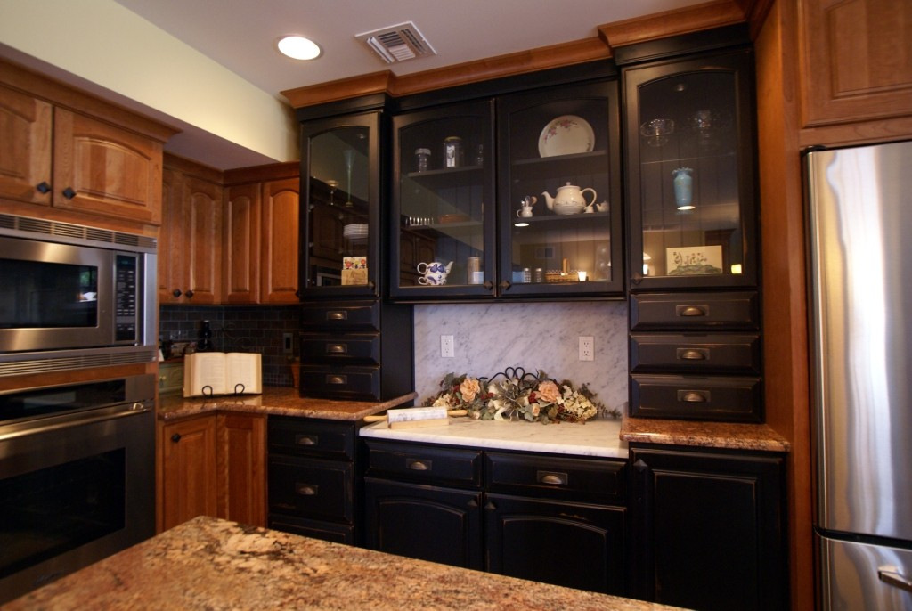 Kitchen Cabinets With A Distressed Finish