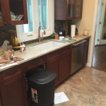 Kitchen Remodel in Morris County NJ In Progress 5-2-2016 (2)