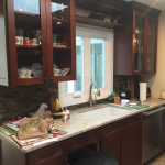 Kitchen Remodel in Morris County NJ In Progress 5-2-2016 (3)