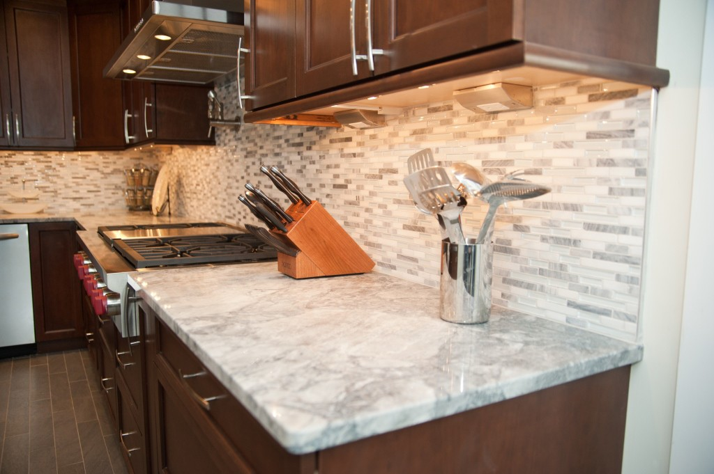 White Quartzite Instead Of Marble For Countertops