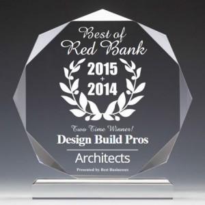 2015 Best of Red Bank NJ architect winner