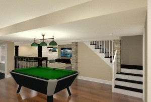 Basement Finishing in Middlesex County, NJ CAD (10)-Design Build Pros