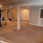 Basement Finishing in Middlesex County NJ In Progress 12-2-2015 (2)