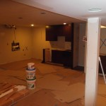 Basement Finishing in Middlesex County NJ In Progress 12-2-2015 (4a)