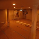 Basement Finishing in Middlesex County NJ In Progress 12-2-2015 (5)