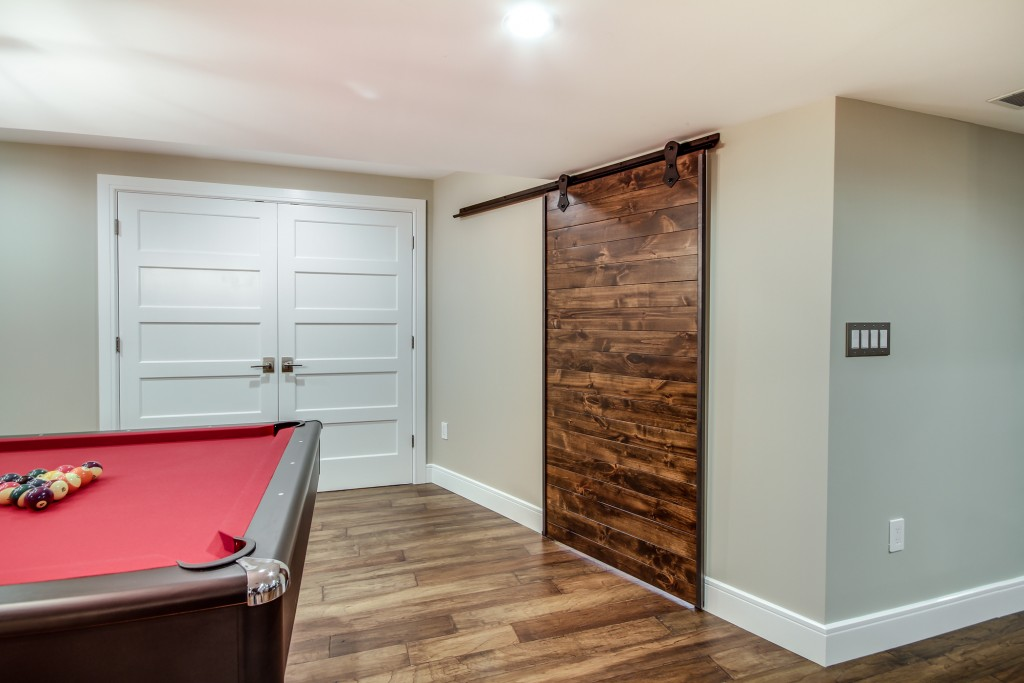 Barn Style Sliding Passage Doors & Barn Style Sliding Passage Doors - Design Build Pros