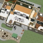 Dollhouse Overview of Kitchen and Master Suite Addition in Franklin Lakes, NJ Plan 3 (1)-Design Build Pros