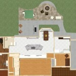 Dollhouse Overview of Kitchen and Master Suite Addition in Franklin Lakes, NJ Plan 3 (2)-Design Build Pros