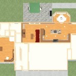 Dollhouse Overview of a Kitchen and Master Suite Addition in Franklin Lakes NJ Plan 2 (2)-Design Build Pros