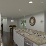 Kitchen and Master Suite Addition in Franklin Lakes, NJ Plan 1 (3a)-Design Build Planners